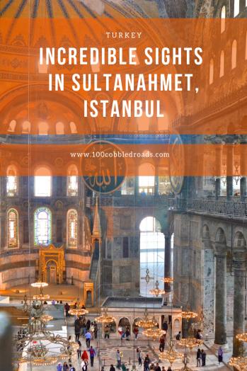 A walking tour in Sultanahmet, Istanbul #historiccity #istanbul #sultanahmet #unescoheritage #hagiasofia #bluemosque