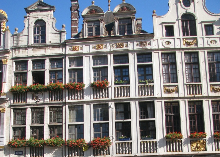 Guildhouses_Grand Place_Brussels_1
