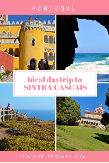 Discovering the best of Sintra Cascais in a daytrip from Lisbon #penapalace #monserrate #cabodaroca #adraga #lisbon daytrip #portugal