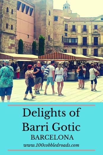 Simple charms of Barcelona's Barri Gòtic #spain #barrigotic #barcelona #catalonia #medievaltown #oldtown