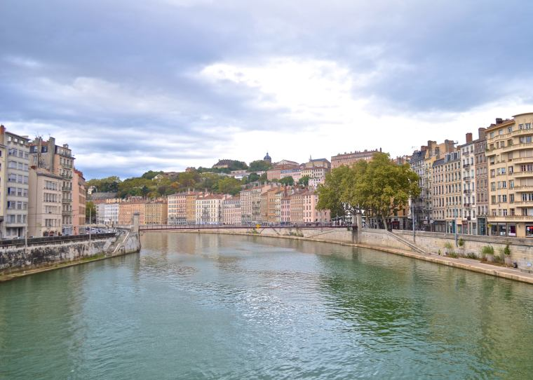 Saone riverside_Lyon_France_2