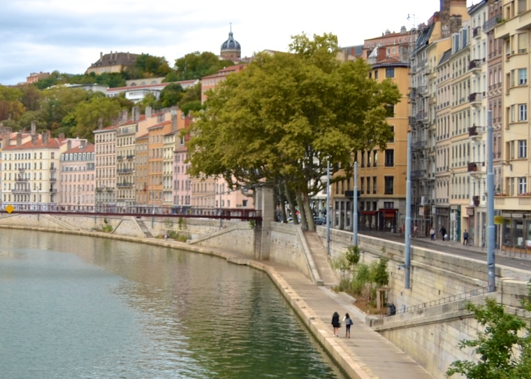 Saone riverside_Lyon_France_3