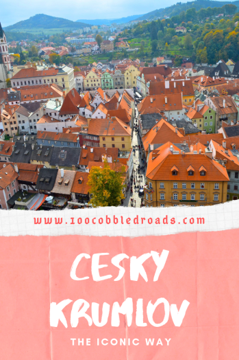 Fascinating fairytale town of Cesky Krumlov #czechrepublic #ceskykrumlov #prettiestczechtown #medievaltown #castletown #bohemiantown