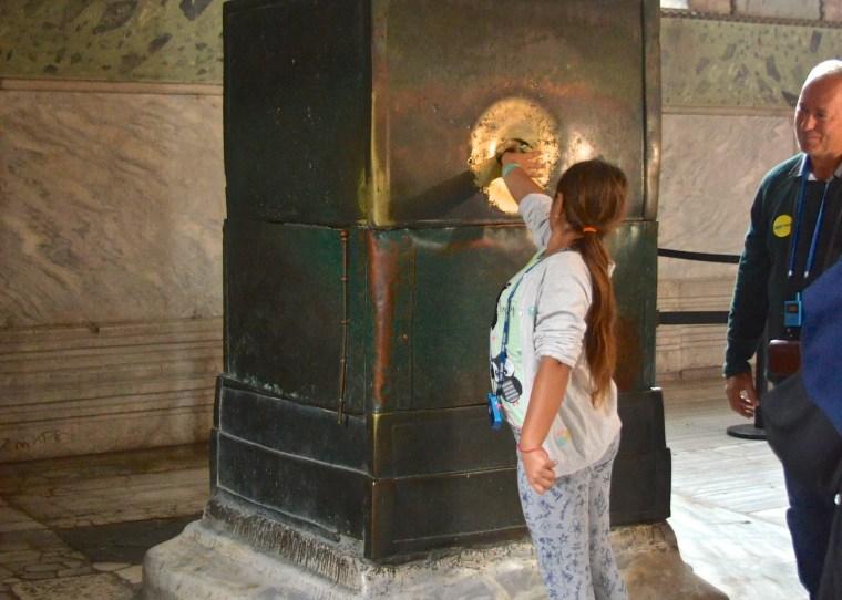 Weeping wall_Hagia Sophia_Istanbul_Turkey.jpg