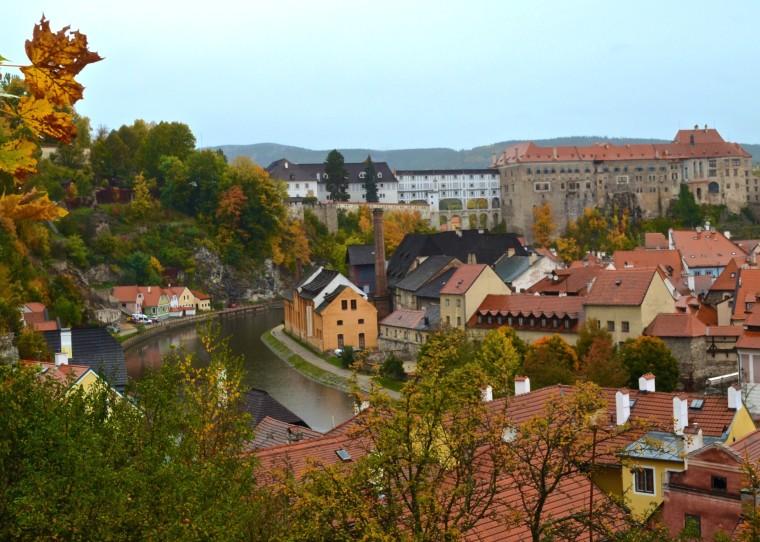 View from Plešivec_Cesky Krumlov_1