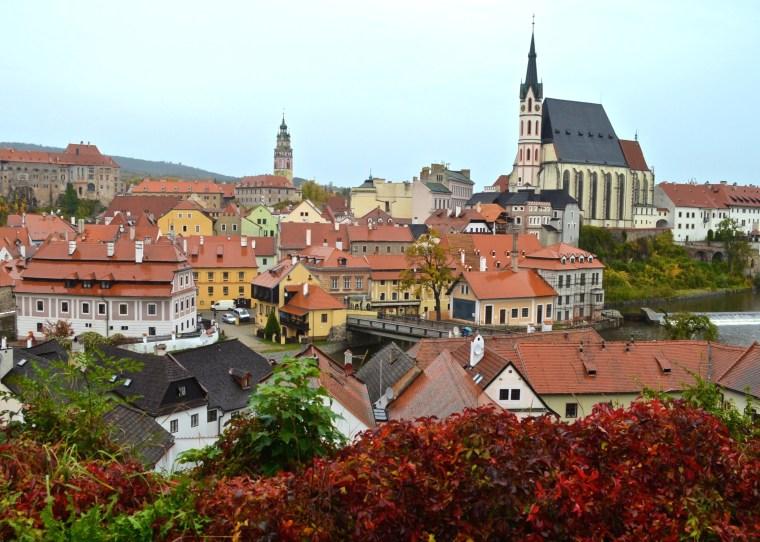 View from Plešivec_Cesky Krumlov_2