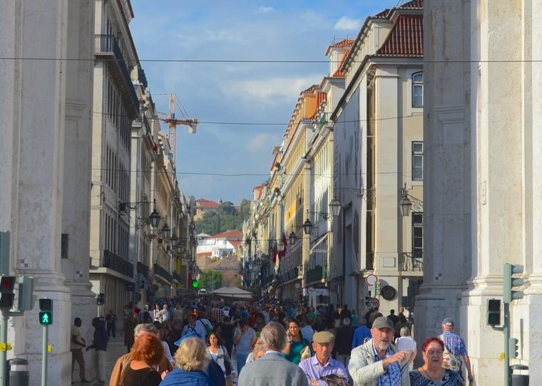 Rue Augusta_Baixa_Lisbon_Portugal
