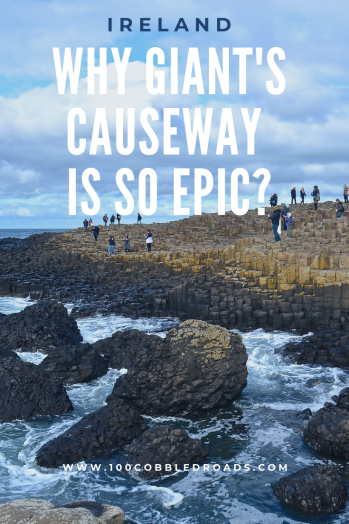 Day trip to Giant's Causeway in Northern Ireland #ireland #giantscauseway #unescoworldheritage #titanic #belfast #Carrick-a-Rede