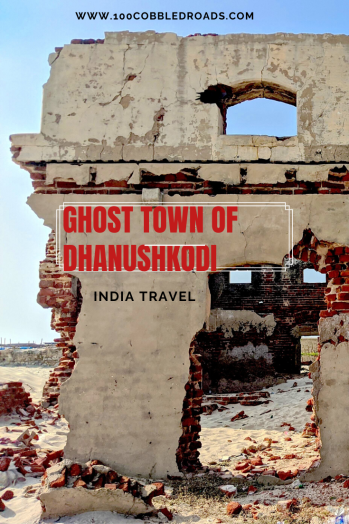 Dhanushkodi, the abandoned ghost town swept away by a cyclone #indiatravel #madurai #dhanushkodi #pamban #ghosttown
