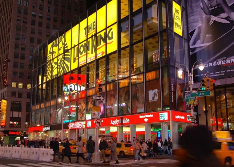 Minskoff_Theater,_Broadway_(898226276)